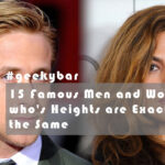 15 Famous Men And Women Who'S Heights Are Exactly The Same