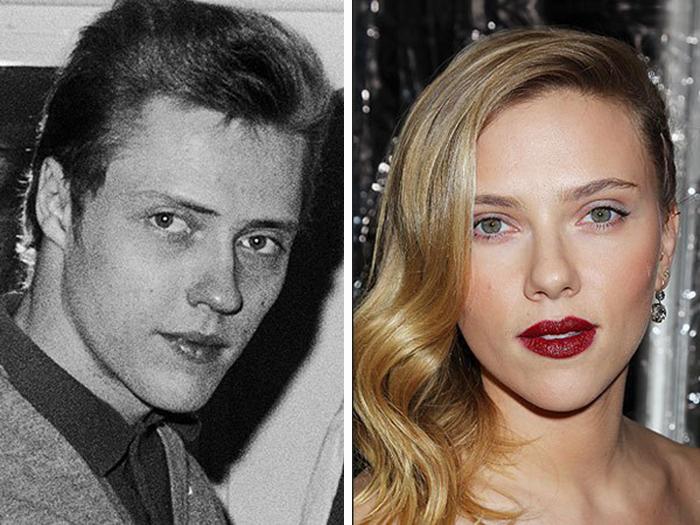 Scarlett Johansson Christopher Walken