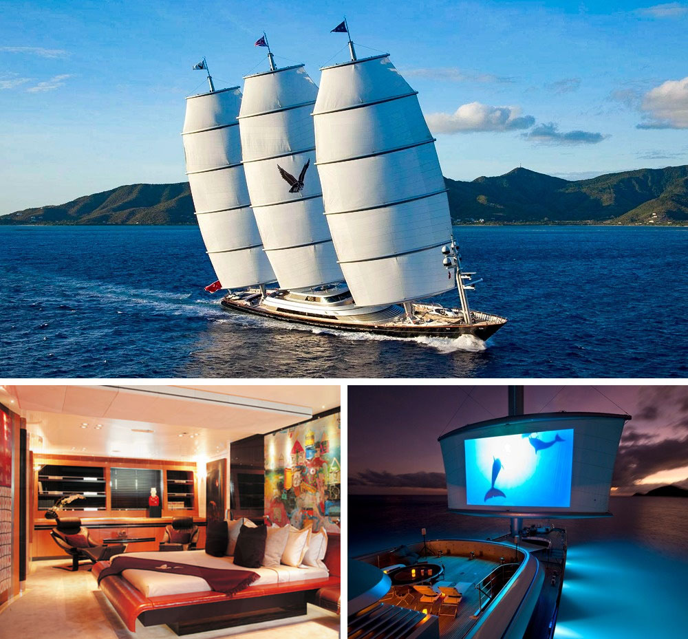 Spectacular Yachts That You Will Buy When You Are A Millionaire 2