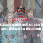 10 Curious Facts You Did Not Know About Your &Quot;Game Of Thrones&Quot; Series