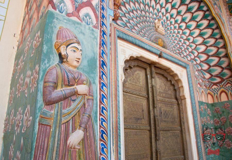 Diwan I Khas Jaipur Palace India.