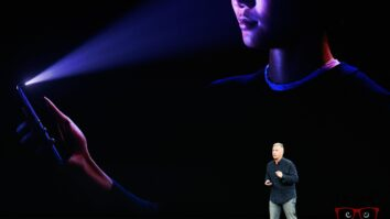 The Facial Recognition System Is One Of The Great Novelties Of The New Iphone