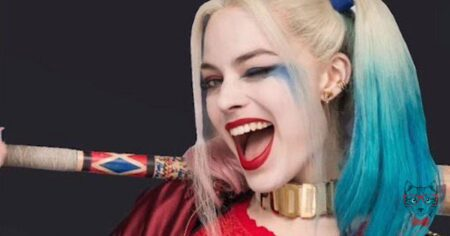 New Margot Robbie Harley Quinn Image For Oscars
