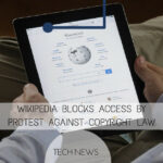Wikipedia Blocks Access By Protest Against Copyright Law