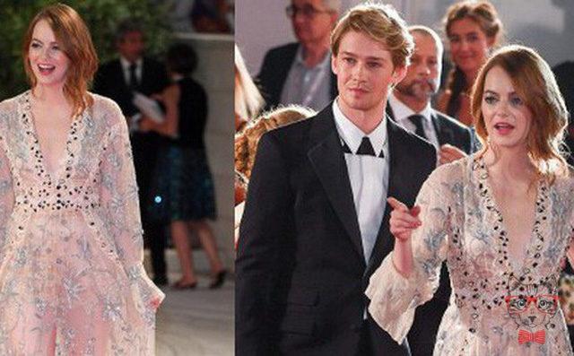 Venice Film Festival Emma Stone Looks Seductive Appeared With Her Boyfriend Taylor Swift