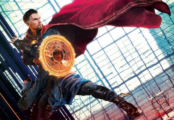 Fan Art Poster Or Will See Scarlet Witch In Doctor Strange