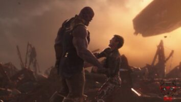 The Scene Where Tony Stark Was Hit In The Infinity War Was Similar To The One He Had Hit In Iron Man.
