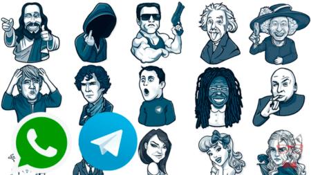 Whatsapp Telegram Stickers Android