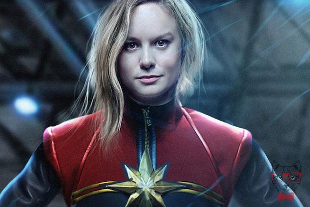 Brie Larson In As Captain Marvel