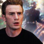 Captain America In Avengers Endgame With Doctor Strange Ant Man And Captain Marvel