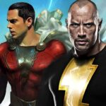 Zachary Levi As Shazam And Dwayne Johnson As Black Adam Fan Made Art