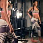 Woman Gym Mirror Gettyimages 912726474