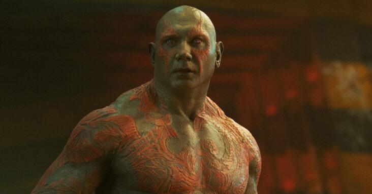 Dave Bautista James Gunn Guardians Of The Galaxy Drax