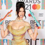 Dua Lipa, Brit Awards, London O2 Arena, Uk, Little Mix