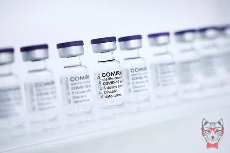 Vials With The Pfizer Biontech Vaccine.