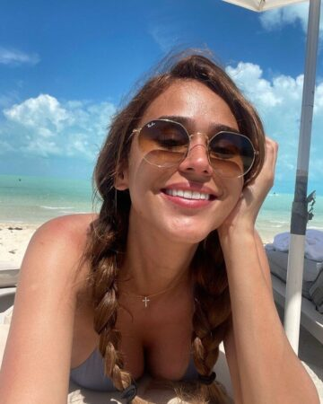 Yanet García Raises The Temperature In Nets With Little Clothing