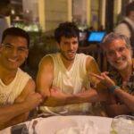 Carlos Rivera , Sebastián Yatra And Alejandro Fernández