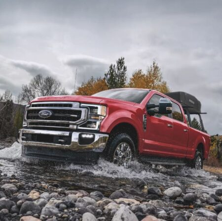 The 2021 Ford F-150 Drive Has Its Rear Wheel Drive.