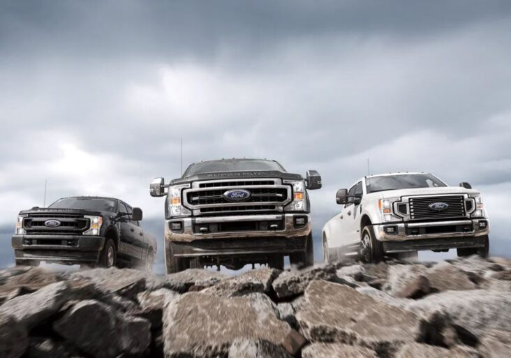 Car Sales Have Increased Significantly In 2021, Especially Ford'S F-Series.photo: Ford / Courtesy