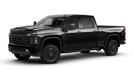The Chevrolet Silverado Can Be Maneuvered In 10 Automatic Speeds. / Photo: Courtesy Of Chevrolet.