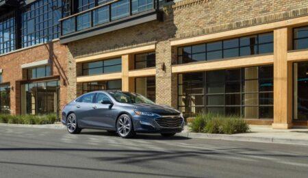 The 2020 Chevrolet Malibu Has Its Front Wheel Drive. / Photo: Courtesy Of Chevrolet.