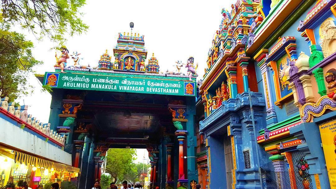 Arulmigu Manakula Vinaynagar Temple
