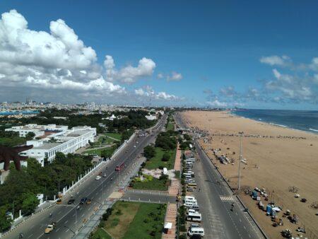 Chennai Birds Eye View