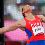 Monday Photo Of The Cuban Yaime Perez During The Final Of The Discus Throw.
