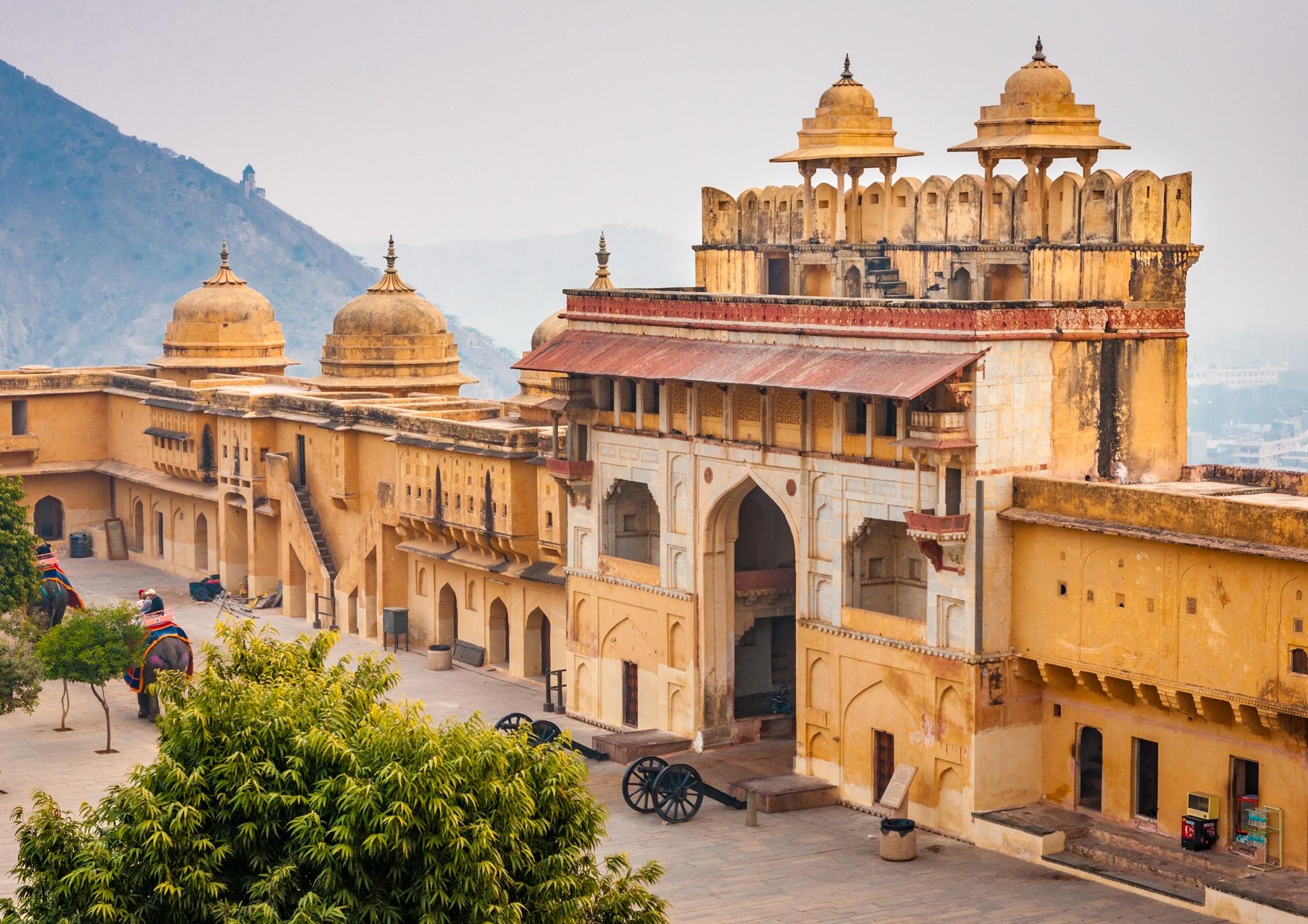 Amber Amer Fort Jaipur India L
