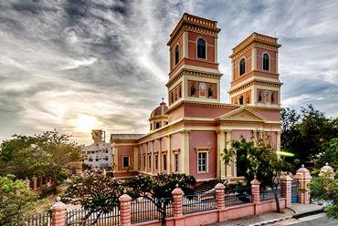 Eglise De Notre Dame Des Anges Pondichery 563