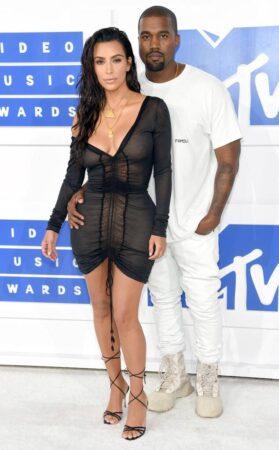 Kanye West Kim Kardashian Mtv Vmas Arrival