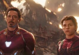 An Important Moment Between Iron Man And Spider Man In The Avengers Movie.