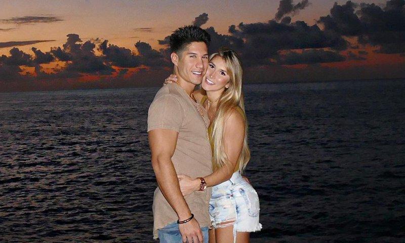 Chyno Miranda And Natasha Araos