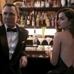 Daniel Craig Left And Ana De Armas In A Scene From No Time To Die