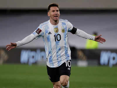 In His 153Rd Appearance For Argentina Lionel Messi Became South Americas Top International Goal Scorer Afp Photo