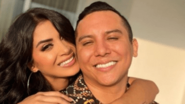 Kimberly Flores And Edwin Luna