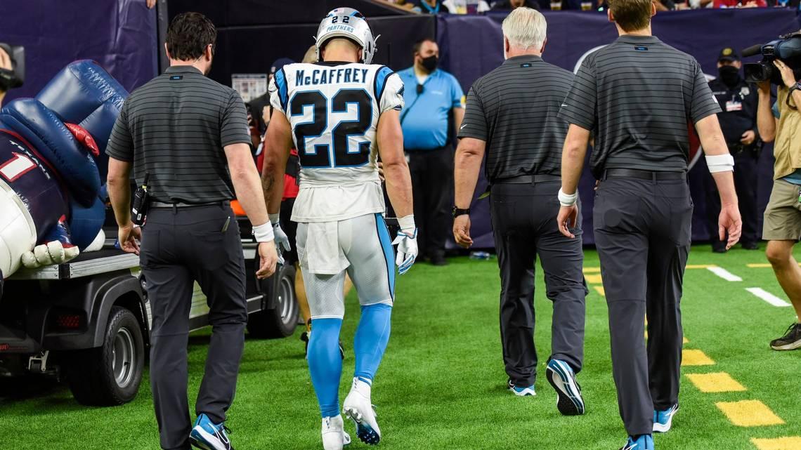 Panthers Rb Christian Mccaffrey 1