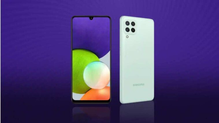 Samsung Galaxy M22 3