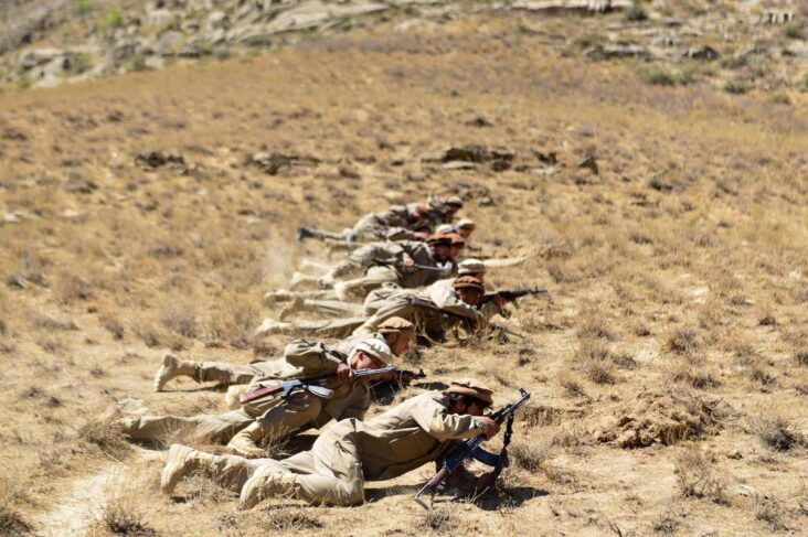 The Afghan Resistance Movement Is Preparing To Fight The Taliban In The Panjshir Valley.
