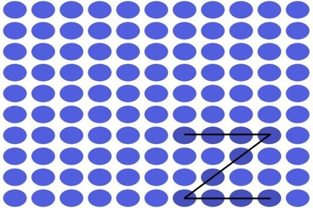 Hidden In The Dots Of A Different Shade.