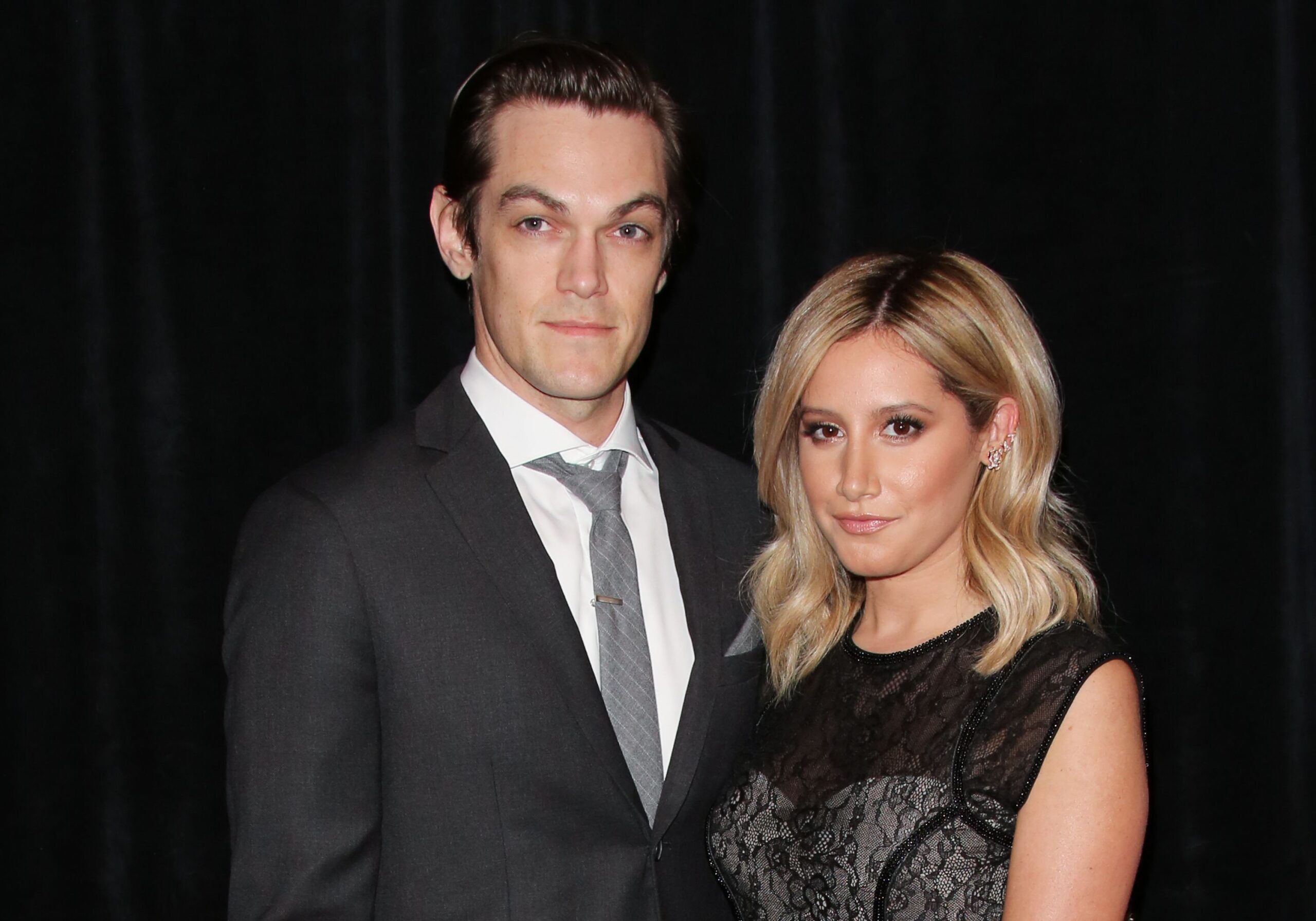Musician Christopher French And Actress Ashley Tisdale Scaled
