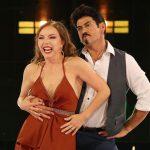 Laura Flores Y Gabriel Porras. Foto: Alex Tamargo/Telemundo