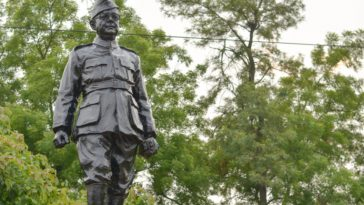 Netaji Subhash Chandra Bose Statue At Nsit