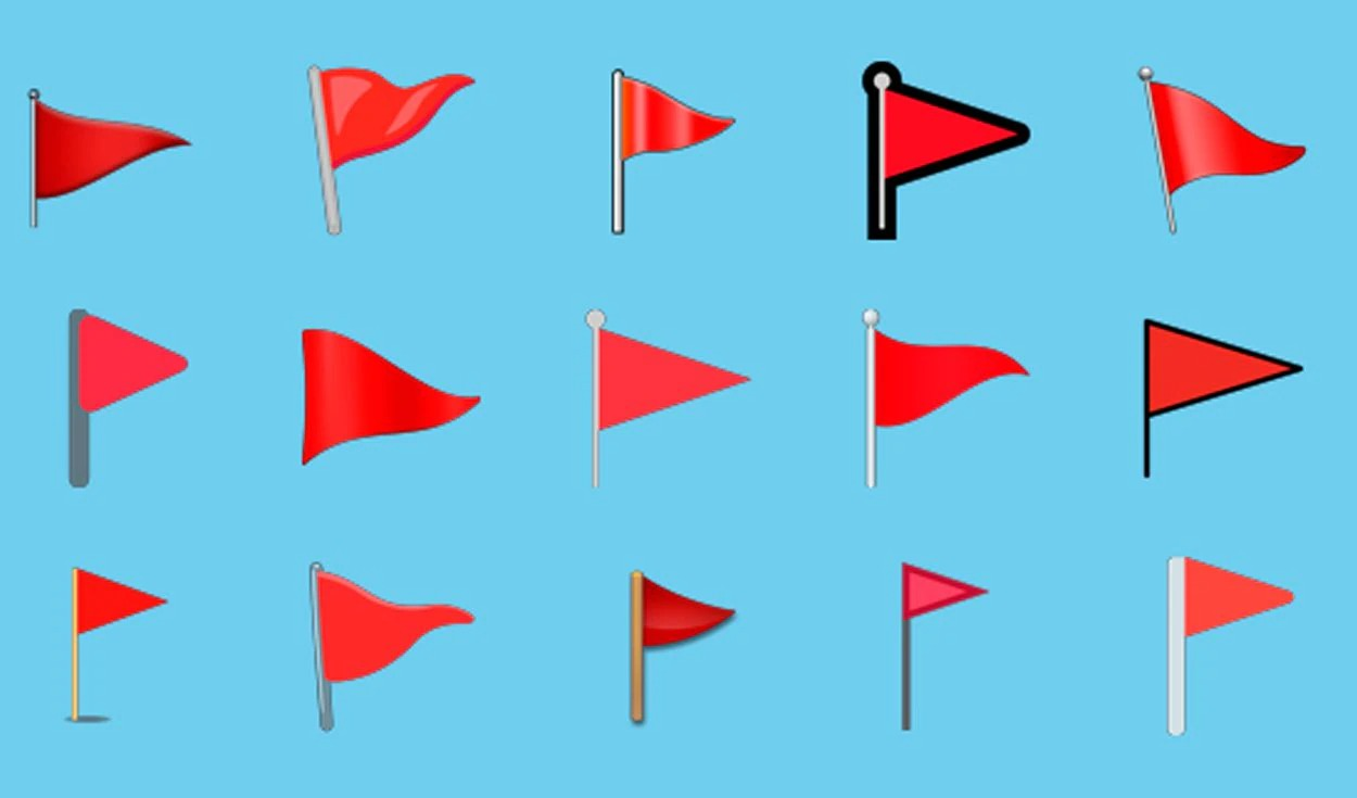 The Red Flag Emoji Is Used When You Want To Highlight That A Person Or Action Is Dangerous Or