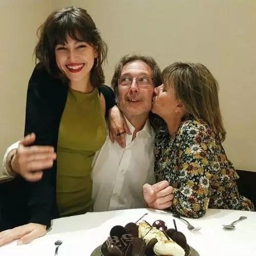 Ursula Corbero With Parents
